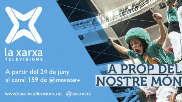 Cugat.cat emet continguts locals a Movistar+ a través de La Xarxa