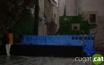 'Un dia' de Mercè Rodoreda, suspesa per la pluja