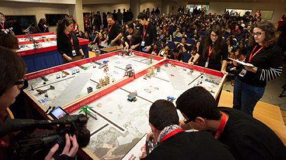 Moment de la competició / Foto: UVic