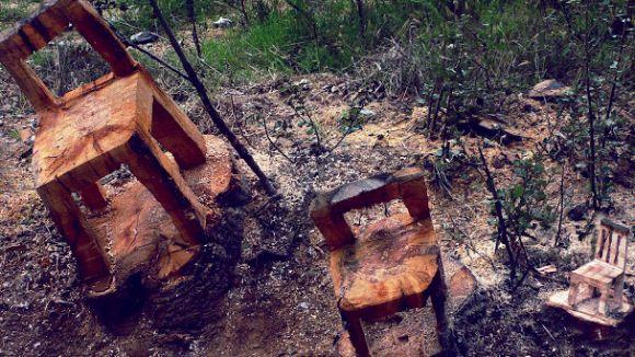 Arbres morts que 'ressusciten', la firma del grup artístic Leña De Luxe