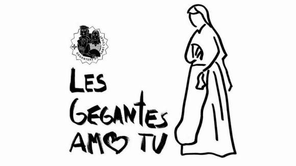 Els Geganters de Sant Cugat se sumen a la campanya 'Les gegantes amb tu' per lluitar contra el càncer de mama