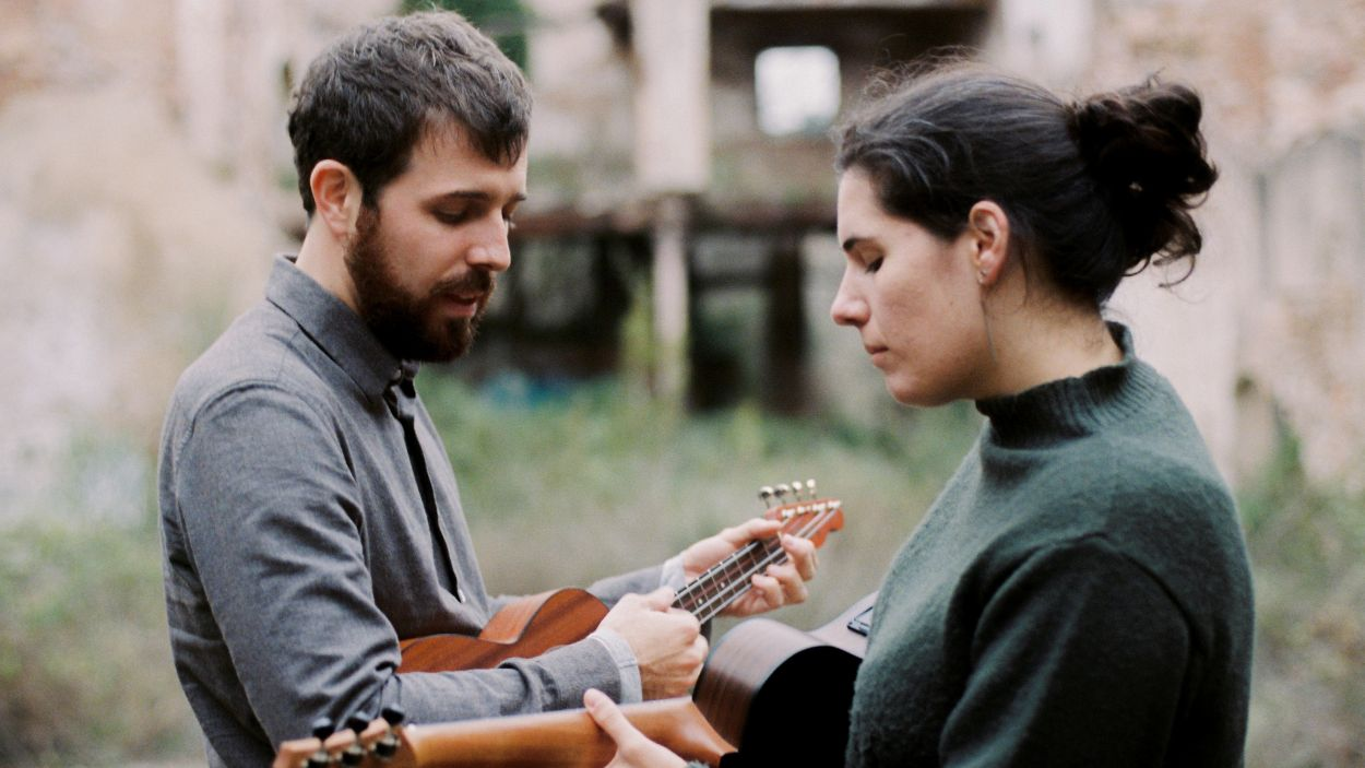 Eduard Balaguer i Leticia Martin / Foto: Albert Roig