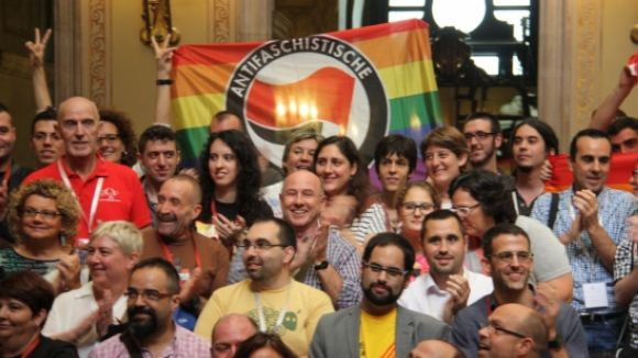 A l'octubre, el Parlament va aprovar la Llei contra l'homofòbia amb el vot en contra de PPC i d'Unió / Foto: ACN
