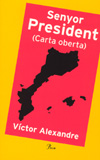L'escriptor santcugatencs també li ha fet arribar un exemplar del seu darrer llibre.