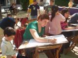 La Plaça Barcelona ha acollit tot el diumenge la Feste del llibre Gegant.