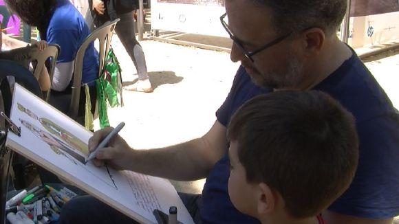 La Festa del Llibre Gegant torna a Sant Cugat amb més de 200 participants