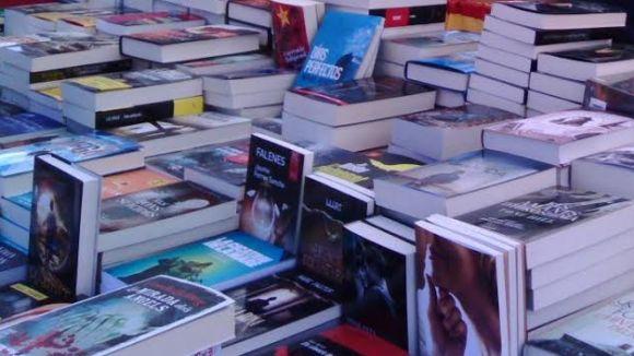Els llibreters, preocupats per la previsió de pluja per aquest Sant Jordi