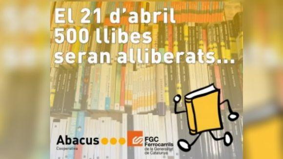 Abacus i FGC 'alliberen' llibres avui per celebrar Sant Jordi