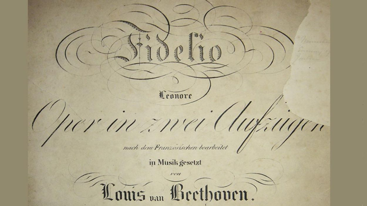 'Fidelio' de Beethoven es representar per primera vegada el 20 de novembre de 1805 a Viena