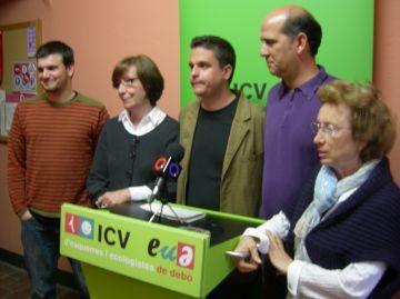 ICV-EUiA es marca com a objectiu repetir tres regidors amb Boix a la llista