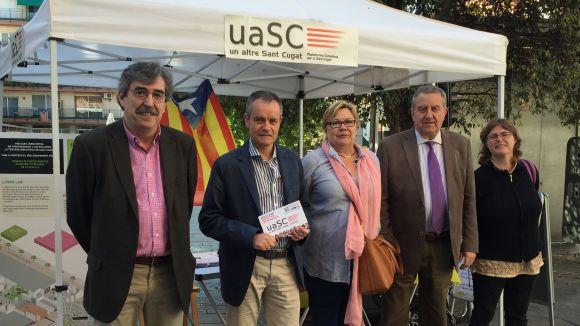La uaSC confia en la feina feta com a aval de cara a les eleccions