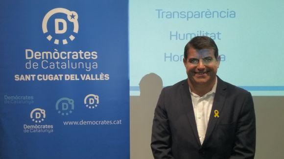Lluís Fernàndez ha presentat aquest dimarts la seva precandidatura al SC Trade Center