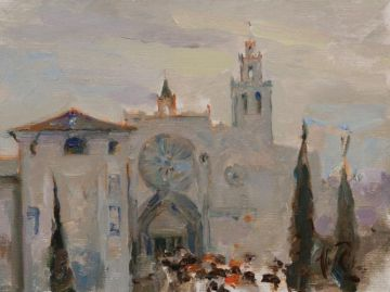 Lluís Ribas descobreix una nova perspectiva de l'indret més conegut de la ciutat a 'Els colors del Monestir'