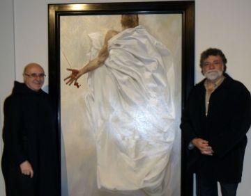 El museu de Montserrat exposa 'El Crist de la bona sang' de Lluís Ribas