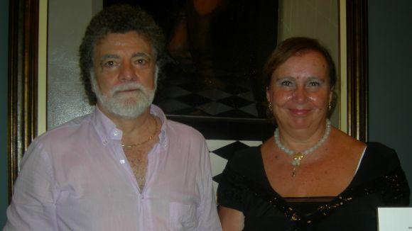 Literatura i pintura es donen la mà a l'espai cultural Lluís Ribas