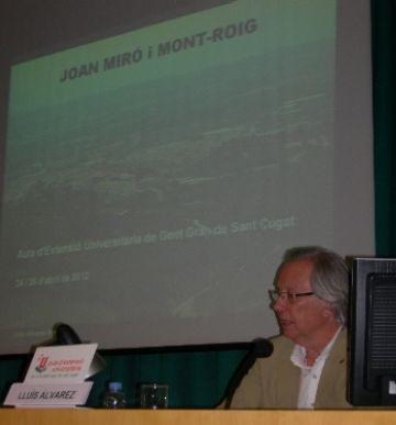 El Miró més personal es dóna a conèixer en una xerrada de l'Aula d'Extensió Universitària