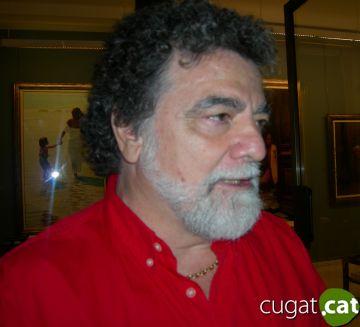 Lluís Ribas inaugura una nova exposició de quadres de gran format