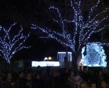 Sant Cugat rep el Nadal amb l'encesa dels llums més sostenibles