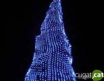 Els llums de Nadal ja il·luminen els carrers de Sant Cugat
