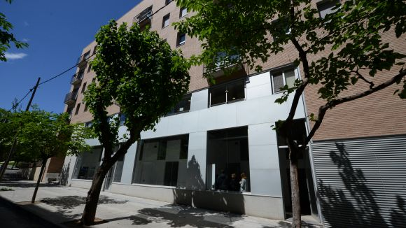 El nou local de l'AEiG Berenguer el Gran, al Camí de la Creu / Foto: Localpres