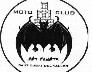 Els motards del Moto Club Rat Penats de Sant Cugat fan una sortida a Viella aquest diumenge