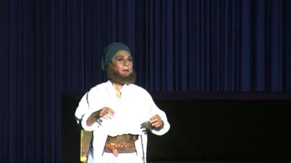 La revolució femenina d'Aristòfanes omple el Teatre-Auditori amb Lolita Flores