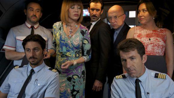 Penélope Cruz i Antonio Banderas es donen cita a 'Los amantes pasajeros'