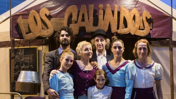 Los Galindos tornen a Sant Cugat per Nadal amb un espectacle familiar