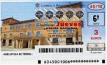 La Loteria deixa a la ciutat 250.000 euros en un segon premi
