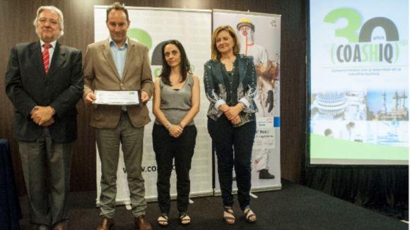 La planta de Lubrizol a Sant Cugat guanya el premi COASHIQ de gestió de la seguretat