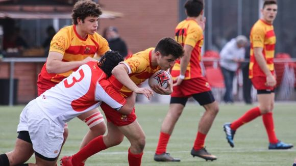 El Rugby Sant Cugat, amb 12 jugadors, és la base de la selecció catalana sub 18