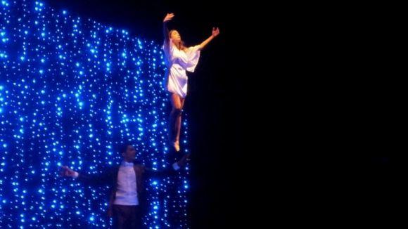La màgia del Petit Mag porta la il·lusió de la solidaritat al Teatre-Auditori