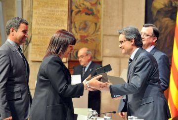 La Generalitat reconeix la tasca de Sant Cugat Comerç