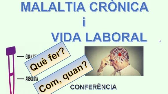 Conferència: 'Malaltia crònica i vida laboral'