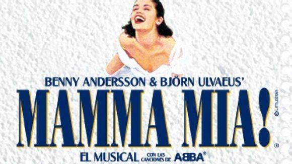 L'autobús de 'Mamma mia!' ofereix la possiblitat de guanyar entrades pel musical