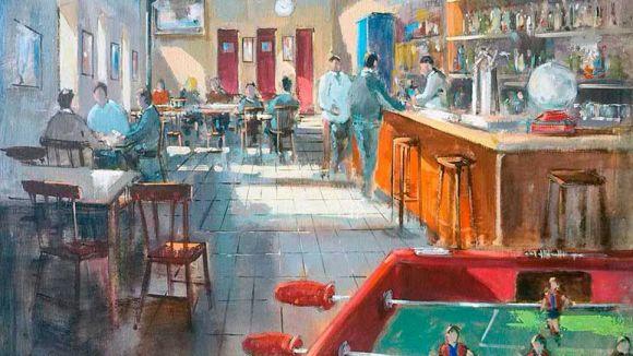 Manel Doblas exposa a partir d'avui 'Rastres itinerants' a la Rusiñol