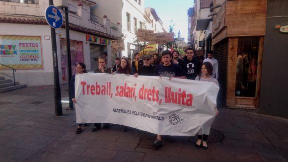 El Comitè del Primer de Maig crida els santcugatencs a sortir al carrer per manifestar-se aquest dimarts