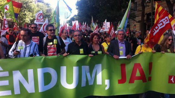 ICV Sant Cugat viatja a Madrid per protestar contra les mesures del govern de Rajoy