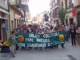 La manifestació ha recorregut els principals carrers de la ciutat