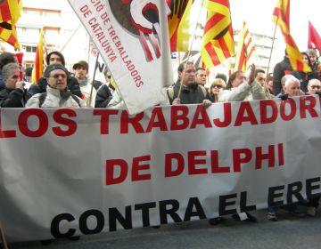 Acord a Delphi per no aplicar l'ERO a la planta de Sant Cugat