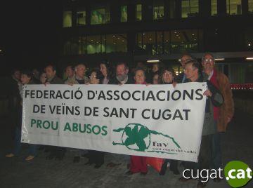 Protesta contra els increments en serveis i taxes per sobre de l'IPC