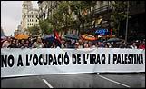 S'ha criticat durament la política d'Aznar, Bush i Blair.
