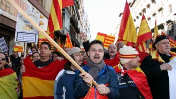El PP local, a la manifestació del Dia de la Constitució