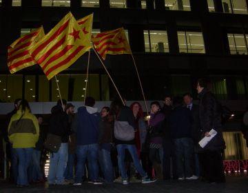 Segona protesta per dir no a la sentència del Suprem que imposa el castellà a les escoles