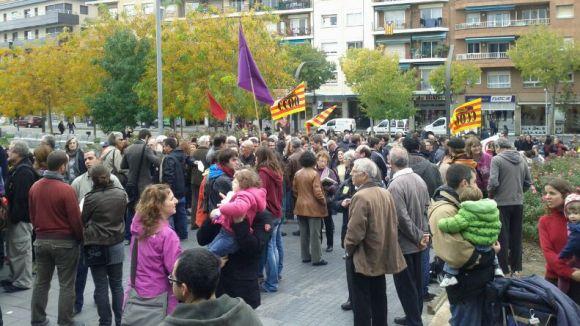 Un miler de persones surt al carrer per omplir de contingut social la vaga general