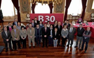 18 municipis de la B-30 s'uneixen per impulsar econòmicament el territori