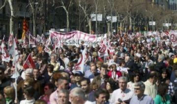 UGT col·locarà piquets a aquelles empreses que prohibeixin fer vaga