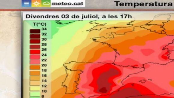 Sant Cugat es manté en alerta per l'onada de calor i pel risc d'incendis forestals