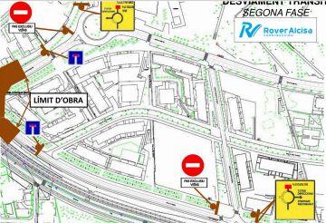 Els carrers de Vallseca i Josep Irla es tallaran al trànsit per les obres del pont de Can Rabella