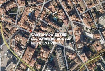 Els carrers Doctor Murillo i Villà comencen avui el seu procés de vianantització